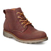 Ecco Holbrook Cognac Leather Mens Chukka Boot 532204-02053