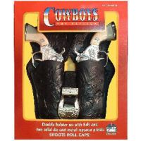 5510 Stagecoach Cowboy Toy Gun Double Holster Sets