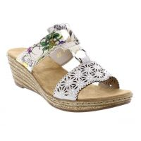 Rieker Adjustable Strap Sling Back Womens Sandals 62427-80