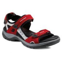 Ecco Chili Red YUKATAN Womens Adjustable Strap Sport Sandals 69563-55287