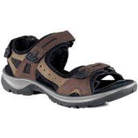 69563-52524 Yucatan Brown Performance Comfort Ecco Womens Sandals