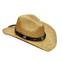 M & F Blazin' Roxx Adult Womens Straw Hat 7105602
