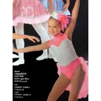 71063C CANDY CANE II BACKSKIRT RECITAL COSTUMES