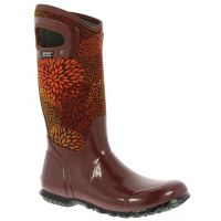 Bogs North Hampton Floral Insulated Waterproof Womens Rain Boots
