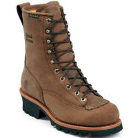 73100 Bay Apache 8in Waterproof Logger Chippewa Mens Work Boots
