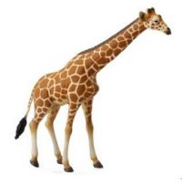 Bryer by Collecta Brown Reticulated Giraffe Childrens Toy 88534