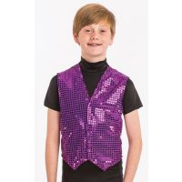 9225 Reflection Sequin Vest-Child