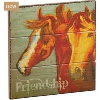 B5210034 FRIENDSHIP Wall Plaque Western Home Accents