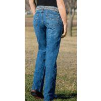 CB51253001 Medium Stonewash Slim Georgia Womens Jeans