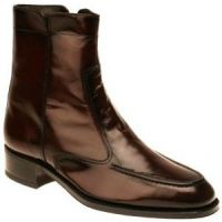 Florsheim Essex Zip Boot Black Cherry Mens Dress 17074-18