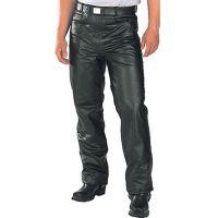 101BLK Black Leather Mens Pants