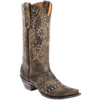 Old Gringo Songbird Bison Stud & Stitching Accent Womens Western Boots