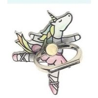 CJ Merchantile Miss Unicorn Ballerina Dnacer Print Cell Phone Ring/Stand A-G429