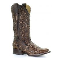 Corral Brown Helena Womens Western Boot A3326