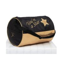 Capezio Black Star Barrel Bag B211