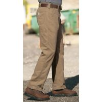 B324DKH Dark Khaki Washed Twill Dungaree Mens Carhartt Pants