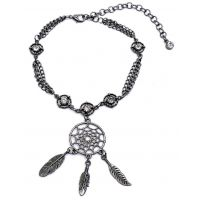 BA353 Silver Dream Catcher Boot Chain