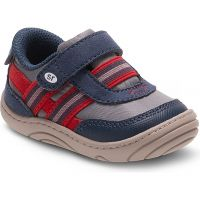 Stride Rite Caden Grey/Navy Baby First Walker BB56796