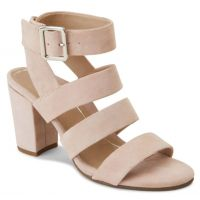 Vionic Rose Suede Blaire Heeled Womens Comfort Sandals