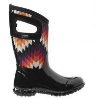 BOGS North Hampton Native Black Multi Kids Waterproof Boots 71841-009