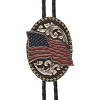 And West American Flag Bolo BOL142
