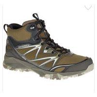 Merrell Capra Bolt Mid Waterptoof Leather DarkOlive Mens Hiker J37417