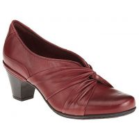 CAI16ML STACEY Merlot Leather Slip-On Cobb Hill Womens Dress Pumps