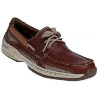 Dunham Captain Boat Brown Leather Mens Casual MCN410BR