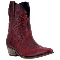 Dan Post Dingo Adobe Rose Short Womens Western Boots **ONLINE ONLY**