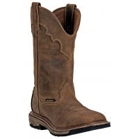 Dan Post Saddle Tan Blayde Mens Waterproof Steel Toe Work Boots DP69482 ** ONLINE ONLY**
