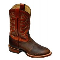 MD5320 Tan Bison Print Let's Rodeo Western Collection Mens Nocona Boots