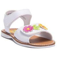 Rachel White Eva Floral Girls Comfort Sandal EVA