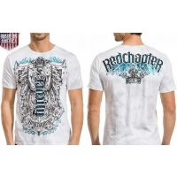 Ambigram Made In America Short Sleeve Tee Red Chapter Mens Shirts