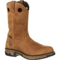 Brown Carbo-Tec Composite Toe Waterproof Georgia Mens Work Boots