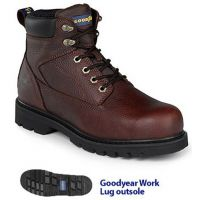 GY6003 Goodyear Briar Full Grain Leather 6 inch Mens Work Boots