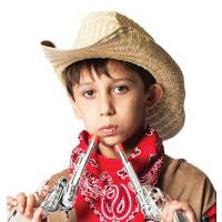 H-112 Rolled Brim Cowboy Hat