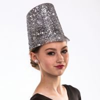 H-32 Glitter Bandsman Hat