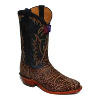 Tony Lama 4PC Elephant Peanut Mens Boots H2200