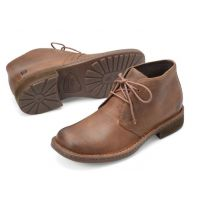 Born Brown Harrison Mens Comfort Classic Chukka Boots H32706