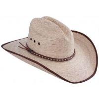 Hicktown #2 Jason Aldean Palm Straw Resistol Mens Western Cowboy Hats