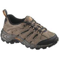 J13027 Walnut Moab Ventilator Lace Casual Merrell Kids Shoes