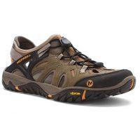 Merrell All Out Blaze Waterproof Brindle/Butterscotch Mens Sandals