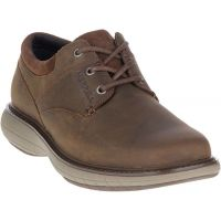 Merrell  Brown World Vue Lace Leather Mens Comfort Shoes J94353