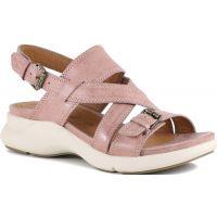 Bussola Jenny Blush Dakota Slingback Wedge Comfort Womens Sandals JENNY-BLUSH