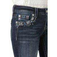 Miss Me Jeans Gem Glam Ankle Skinny Womens Jeans JP7250AK