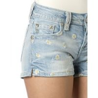 JP7263H Flower Blossom Women's Miss Me Shorts