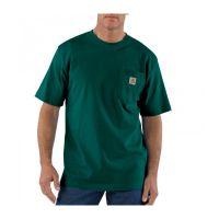 K87HTG Green Carhartt Mens T-Shirt