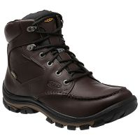 Keen USA Anchor Park Waterproof Brown Leather Mens Boots 1013786