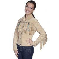 Scully Boar Suede Fringe Womens Jacket L152
