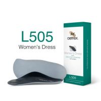 Aetrex Women's Dress Medium/High Arch with Metatarsal Support Orthotic L505W